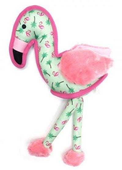 The Worthy Dog Flamingo Dog Toy