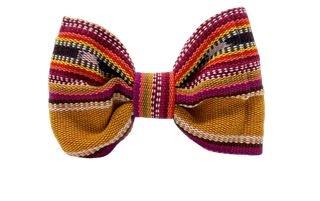 Sam & Nala Summer Hat Dog Bow Tie