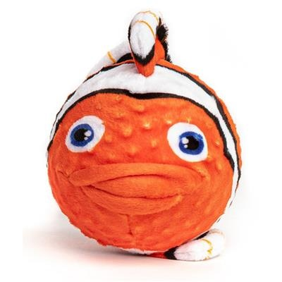Fabdog Clownfish faball Squeaky Dog Toy