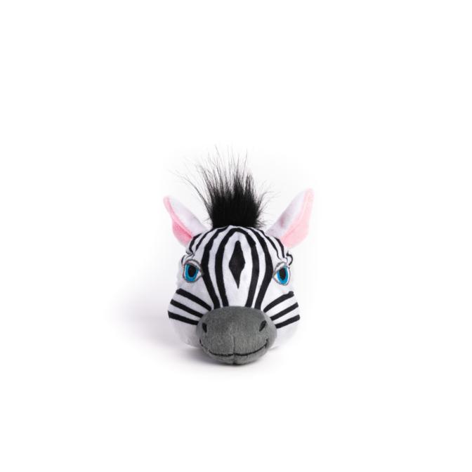 Fabdog Zebra faball Squeaky Dog Toy Small