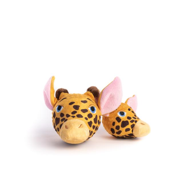Fabdog Giraffe faball Squeaky Dog Toy Medium
