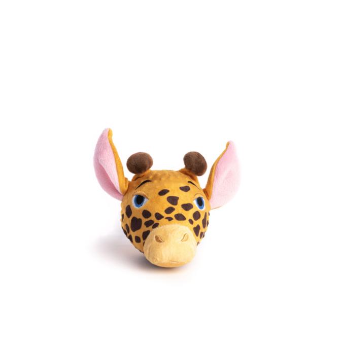 Fabdog Giraffe faball Squeaky Dog Toy Small