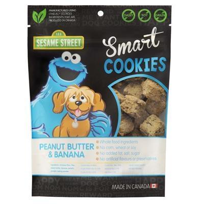 Pet Krewe Cookie Monster Peanut Butter Smart Cookies