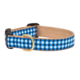 Up Country Navy Gingham Collar