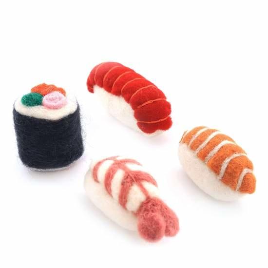The Foggy Dog Individual Sushi Cat Toys