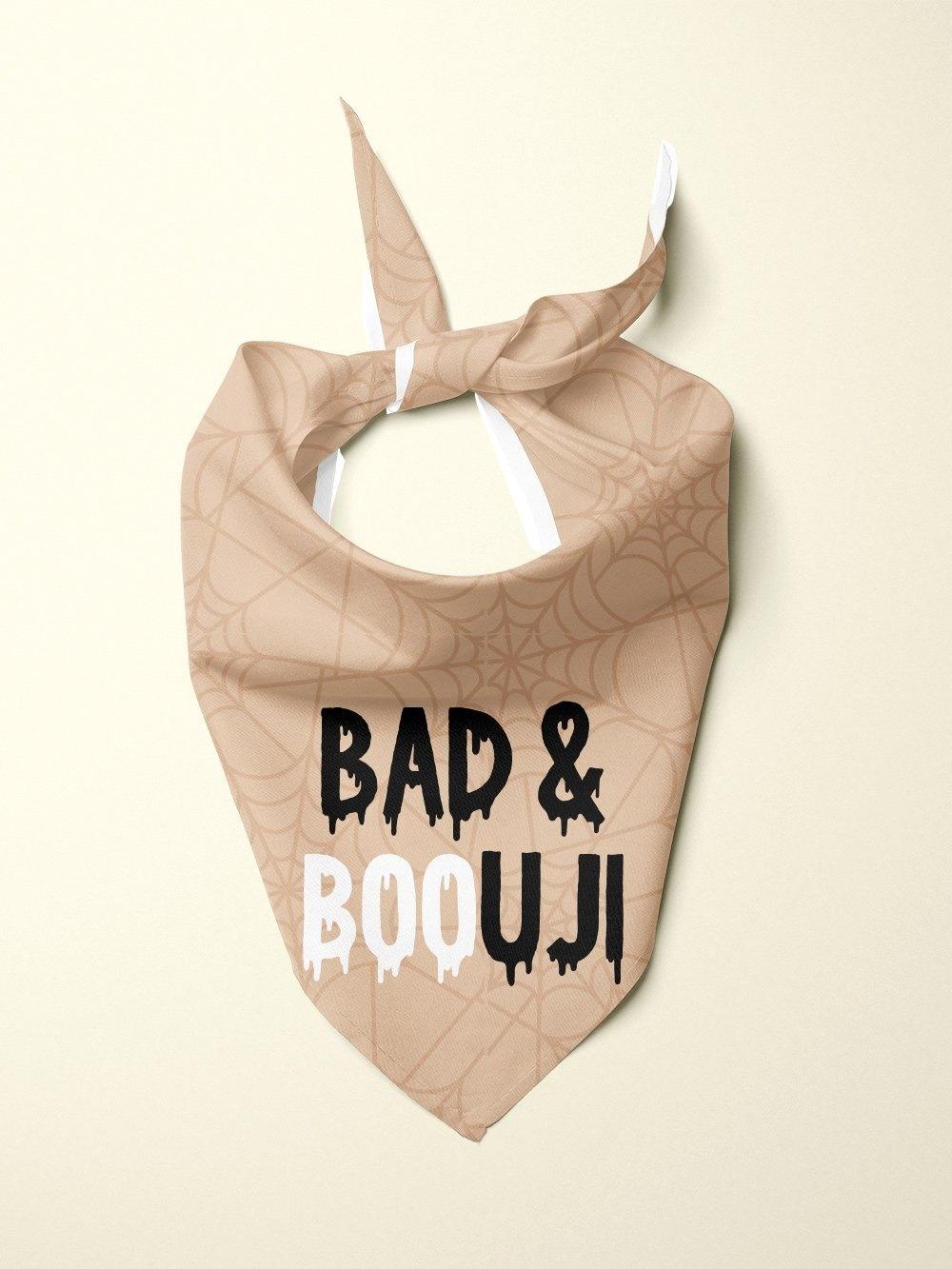 Ripley & Rue Bad & BOOuji Dog Bandana