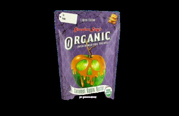 Grandma Lucy's Organic Caramel Apple Baked Dog Treats 8oz