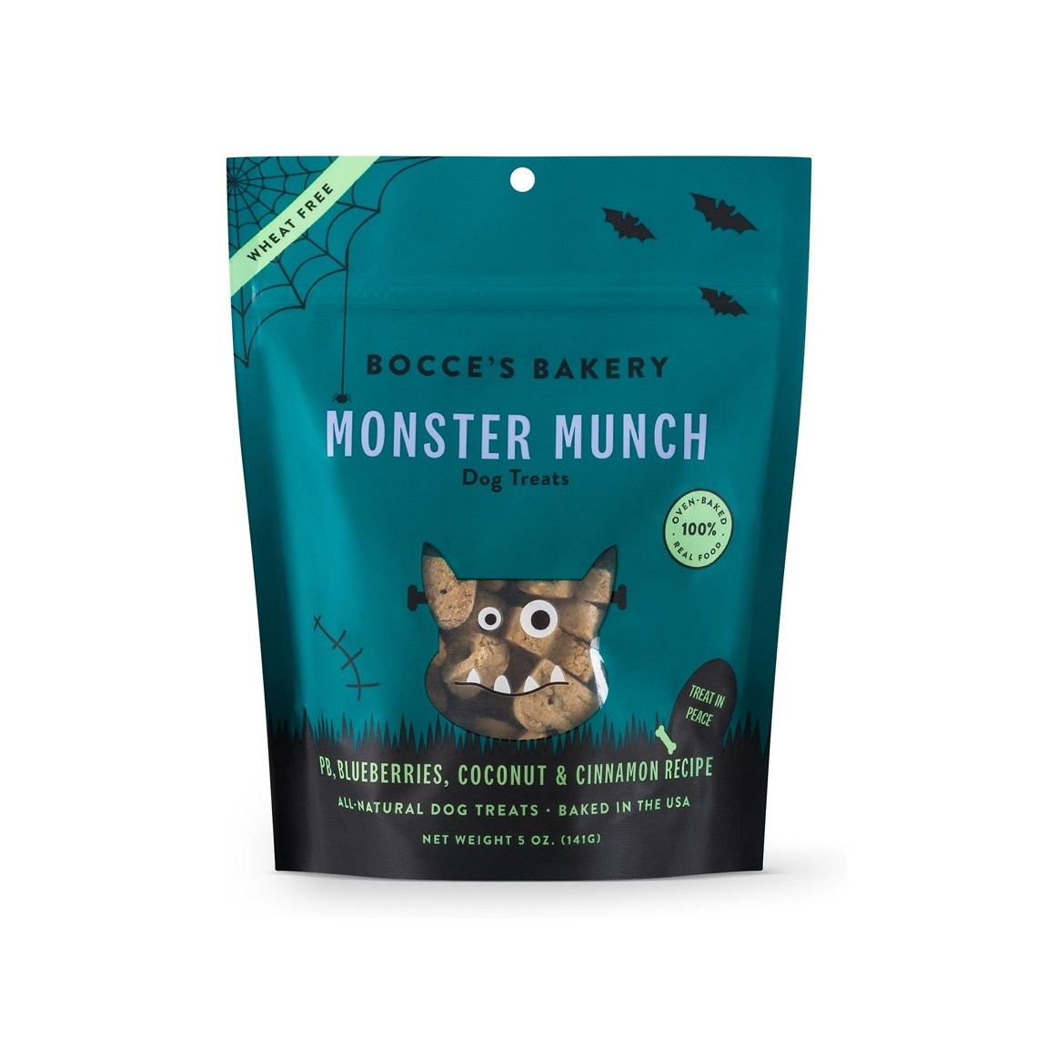 Bocce's Bakery Monster Munch Dog Treats, 6oz