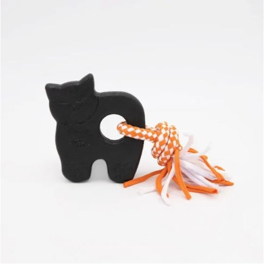Zippy Paws Zippy Tuff Black Cat Dog Toy