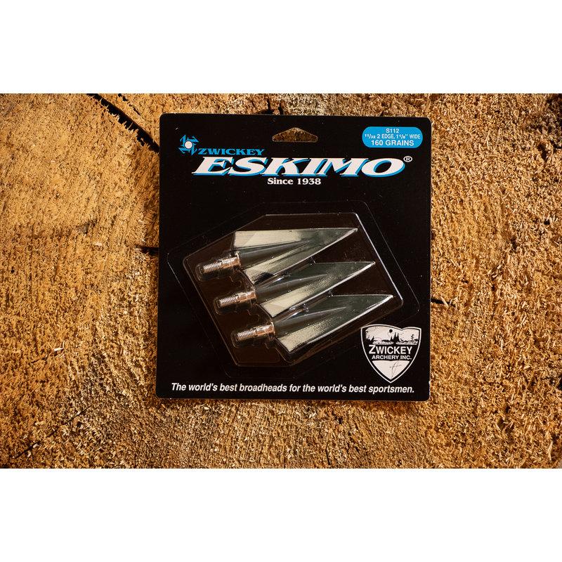Zwickey Zwickey Eskimo 160gr, 2 Blade Broadhead