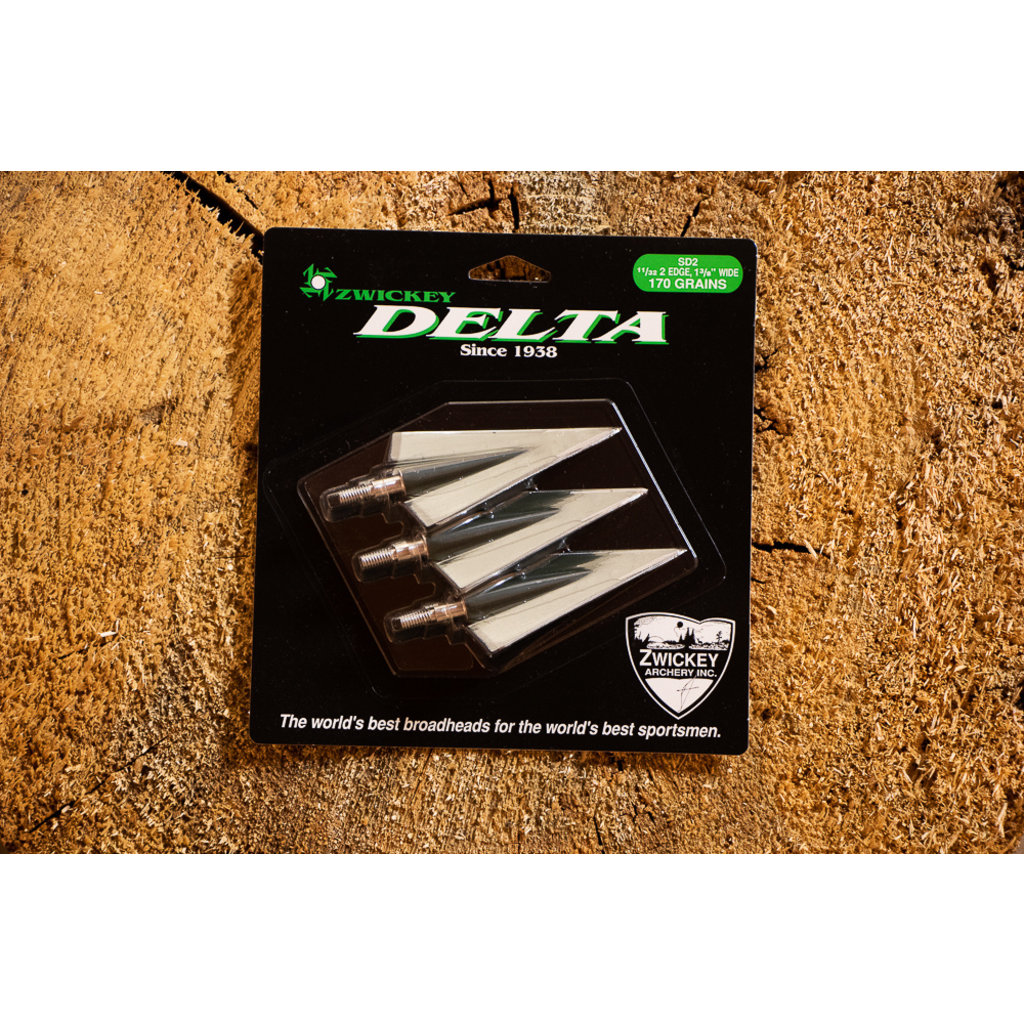 Zwickey Zwickey Delta 170gr. 4 Blade Broadhead