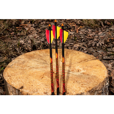 Black Eagle Arrows Outlaw Feather Fletched Arrows