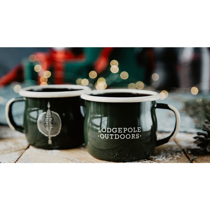 Lodgepole Outdoors Bellied Mug