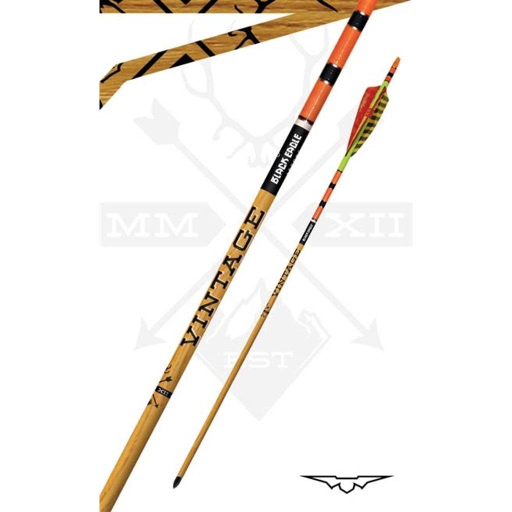 Black Eagle Arrows Vintage Crested and Fletched Arrows