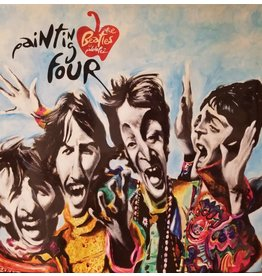Pez Painting Four the Beatles by Pablo Pez