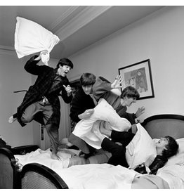 Benson The Pillow Fight by Harry Benson