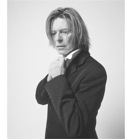 Rock Bowie in Black Jacket Looking Down, NYC, 2002 by Mick Rock