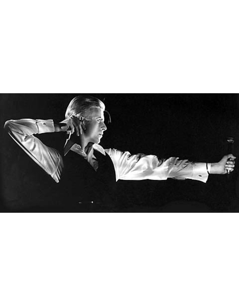 Rowlands David Bowie - The Archer by John Rowlands Mini-Poster (Signed)
