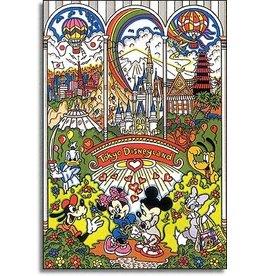Fazzino Tokyo Disneyland by Charles Fazzino