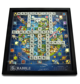 Fazzino Scrabble Deluxe World Edition by Charles Fazzino