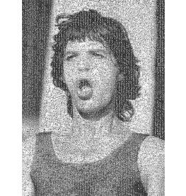 Goldsmith Rock Mosaic: Mick Jagger, 1982 by Lynn Goldsmith