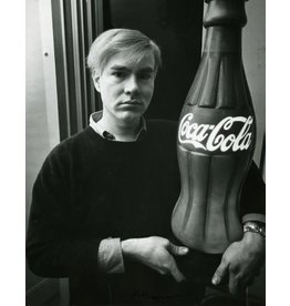 Heyman Andy Warhol with Coke Bottle, 1964 by Ken Heyman