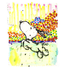 Everhart Dogg E Paddle XXV by Tom Everhart