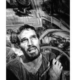Heyman Charlton Heston as Michelangelo, 1965 by Ken Heyman