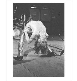 Rock Iggy Pop, Back Bend, London, 1972 by Mick Rock