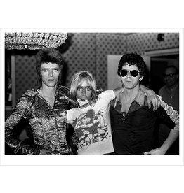 Rock Bowie, Iggy & Lou Reed, London, 1972 by Mick Rock