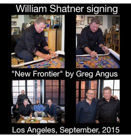 Angus New Frontier by Greg Angus (Signed by William Shatner)