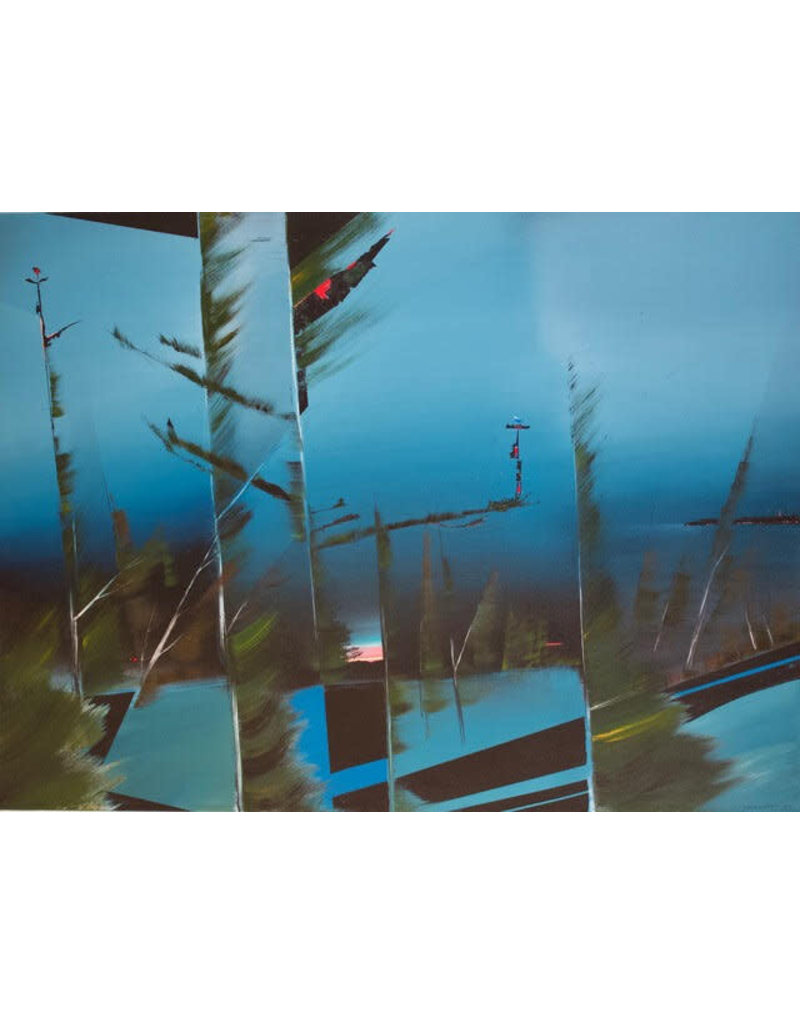 Philibert Totem Land by Andre Philibert (Original)