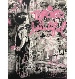 Brainwash Toronto Is Beautiful (Pink) by Mr. Brainwash