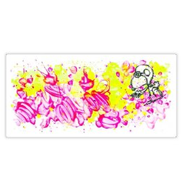 Everhart Partly Cloudy 6:45 Morning Fly by Tom Everhart