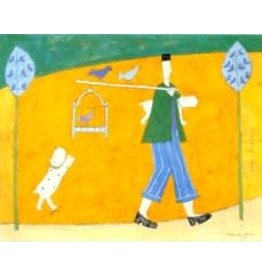 Spence Walking the Birds by Annora Spence