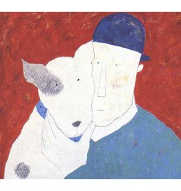 Spence Man and Dog by Annora Spence