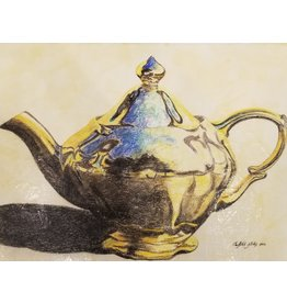 Clarfield-Gitalis Teapot by Elaine Clarfield-Gitalis (Original)