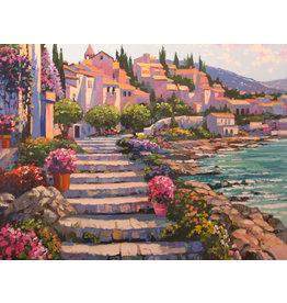 Behrens Steps on the Coast by Howard Behrens