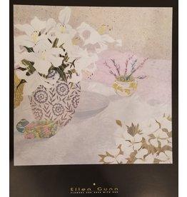 Gunn Flowers and Vase with Box by Ellen Gunn Poster
