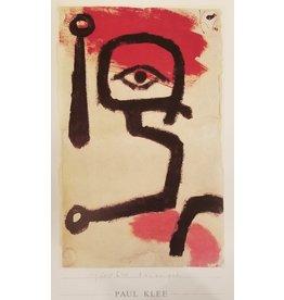 Klee Paukenspieler by Paul Klee Poster