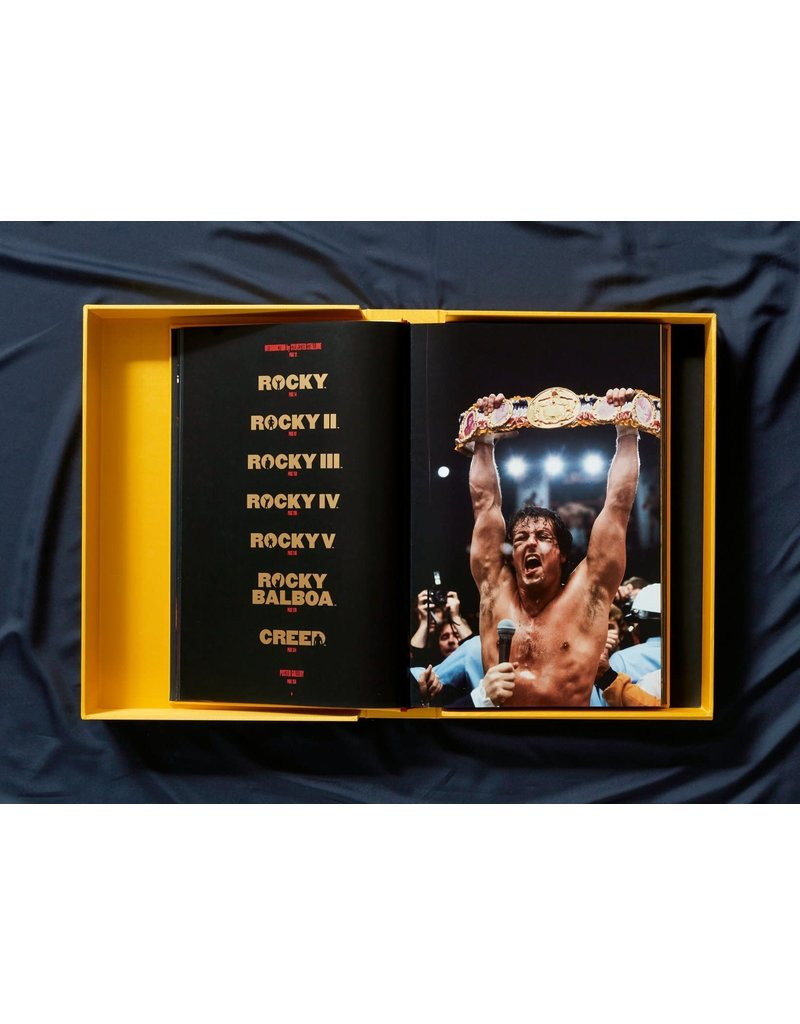 Taschen Rocky the Complete Films by Sylvester Stallone, Neil Leifer, and Paul Duncan (Signed Copy)