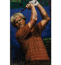 Holland Jack Nicklaus by Stephen Holland (Signed by Nicklaus)