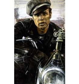 "Holland Marlon Brando ""Rebel"" in The Wild One by Stephen Holland"