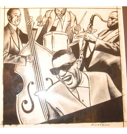 Russell Ray Charles and the Band by Jay Russell (Original)