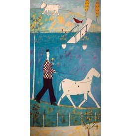 Spence Walking the Horse by Annora Spence