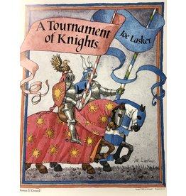 Lasker A Tournament of Knights by Joe Lasker (Signed Poster)
