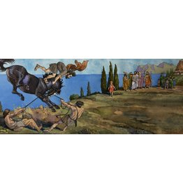 Lasker Alexander the Great Breaking the Stallion by Joe Lasker (Original)