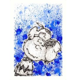 Everhart Hipster Dog Dreams by Tom Everhart