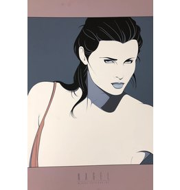 Nagel Woman Without Shoulder Strap by Patrick Nagel