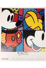 Britto Mickey by Romero Britto (Signed Poster)